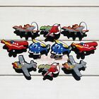 New 10-50PCS Planes PVC Shoe Charms Buckle Ornaments For JIBZ Braclet,kids gifts