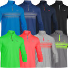 50% OFF RRP Under Armour 2015 Mens UA ColdGear Infrared Heartbeat 1/4 Zip Top