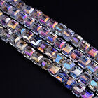 100pcs/lot AB Color DIY Crystal Beads for Jewelry Decorative Sanwood