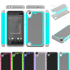 Hybrid Heavy duty Shockproof Armor Silicone Cover Case For HTC DESIRE 530 630