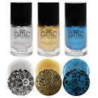 BMC Metallic Shimmer Creative Nail Art Stamping Polishes-Liberty Lane Collection