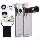 4 in 1 10X Zoom Telephoto Fish Eye+Wide Angle+Micro Clip Lens For Various Phones