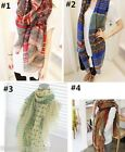 FL Fashion Trendy Bohemian Womens Long Print Scarf Wrap Ladies Shawl Large Scarf