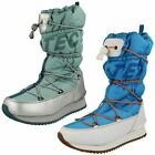 Ladies Hi Tec Synthetic/Textile  Reef/Silver/Dolphin Pull On Boots New Moon