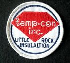 TEMP CON EMBROIDERED SEW ON ONLY PATCH HEATING AIR CONDITIONING  3 1/2""