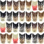 """22"""" Hidden Invisible Dip Dye Ombre Wire Secret Miracle Wavy Curly Hair Extension"""