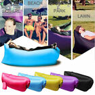 INFLATABLE SLEEPING LAY BAG HANGOUT INSTANT CHAIR COUCH HAMMOCK SOFA BED 7 COLRS