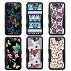 For Coolpad Catalyst NATURAL TUFF Hybrid Rubber Hard Case Black Black 1Colors
