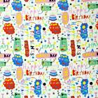 HOW OLD ARE YOU HAPPY BIRTHDAY ALEXANDER HENRY COTTON FABRIC *Free Oz Post