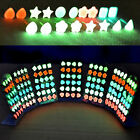 6 Pairs Women Fashion Stud Charming Glow In The Dark (Not LED Stud Earring) EW