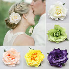 Bridal Wedding Peony Hairpin Rose Flower Hair Clip Brooch Women Girl Accessories