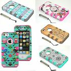 For Apple iPhone 5C 5S 6S Plus Hybrid Tuff Shockproof Armor Hard Skin Cover Case