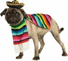 Mexican Serape Pet Costume Dress Your Pet Dog Amigo Halloween