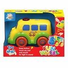 Nursery Toy Train Bus Lights Sound Touch to Activate 12 Months Toddlers Baby