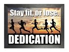 Motivation 611 Running Inspiration Poster Sport Train Fit Quote Picture