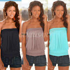 SEXY BACKLESS SUMMER FASHION WOMEN CASUAL OFF SHOULDER BLOUSE T SHIRT TOPS
