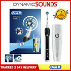 Oral B Pro2 2500 Electric Toothbrush*Black with Travel Case* Limited Edition