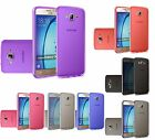 For Samsung Galaxy On5 Frosted TPU CANDY Gel Flexi Skin Case Cover +Screen Guard
