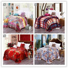 Queen Size Soft Thick Blankets Luxury Super Warm Bed Linen New Lush Comforter