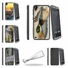 For HTC Desire 530 | Desire 630 Slim Flexible Clear TPU Case Hunting Outdoor