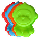 "Cute 6"" Monkey Singles Silicone Mold - NEW - Choose the color you want!"