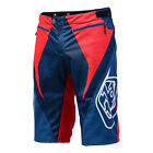 Troy Lee Designs TLD Sprint Relex Short Red/White BMX Mountain Cycling 22309041