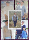 Sirdar Knitting Patterns Mens Sweaters Jackets - Choose from Drop-down Menu
