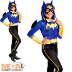 Batgirl Girls Fancy Dress DC Comic Book Day Week Superhero Kids Childs Costume