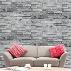 Brick Effect Wallpaper Natural Grey Stone Effect Wall Paper