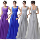 Long Formal Prom Dress Cocktail Party Ball Gown Evening Bridesmaid Dresses BLUE+