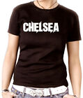 S014 Damen Shirt Girly Tee England London Grate Britan Chelsea