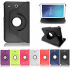 Leather 360 Rotating Smart Stand Case Cover For Various Samsung Galaxy Tablets