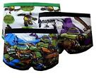 TMNT Boys 3 Pack Assorted Color Underwear Briefs Size 4 6 8