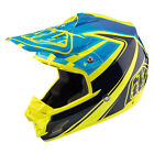 NEW 2017 TROY LEE DESIGNS SE3 NEPTUNE MX DIRT OFFROAD HELMET YELLOW ALL SIZE