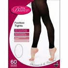 Kyпить Ladies Footless Dance Tights Adult 60 Den Ballet Tights in Black - 4 Sizes S-XL на еВаy.соm