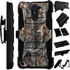 For Rugged Phone Cover Holster Hybrid Case CAMO CAMOUFLAGE TREES LuxGuard