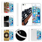 For Apple iPhone SE | iPhone 5/5s Slim Fitted Flexible TPU Case Guns Weapon