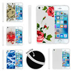 For Apple iPhone SE | iPhone 5/5s Slim Fitted Flexible TPU Case Red Roses
