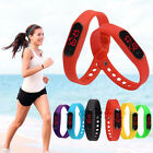 Silicone Women Men Stopwatch LED Bracelet Outdoor Sports Wrist Watch Gifts New