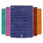 HEAD CASE DESIGNS CROCODILE SKIN PATTERN SOFT GEL CASE FOR APPLE SAMSUNG TABLETS