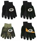 NFL Green Bay Packers No Slip Gripper Utility Work Gardening Gloves NEW! on eBay