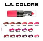 L.A. Colors Matte Lipstick U Pick LA Lip Color