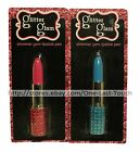 GLITTER GLAM* Shaped Pens SHIMMER GEM Blinged Lip Stick Pen CARDED *YOU CHOOSE*