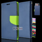 For BLU Studio C 8+8 LTE Leather PU WALLET POUCH 3Colors