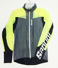 Women's Velo Packable CYCLING Wind & Rain JACKET in Hi Vis Yellow by Santini