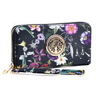 New Dasein Womens Wallets Leather Purse Card Slot Holder Strap Zip Around Emblem <br/> 8 Kinds of Leather Wallets Collections Good Quality