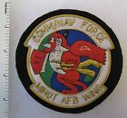 COMM/ NAV FORCE MINOT AFB WING US AIR FORCE Bullion PATCH Hand Made for VETERANS