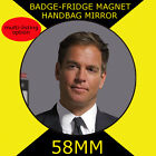 Michael Weatherly- Tony DiNozzo -NCIS--58mm BADGE-FRIDGE MAGNET -MIRROR #6