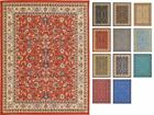 Traditional Persian Design Area Rug Oriental Style Floral Large Rug Soft Red