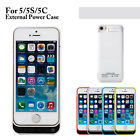 4200mAh Charger Case Power Cover External Battery Flip Cover for iPhone 5 5s 5c